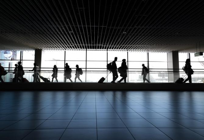 Poliţia greacă a oprit pe aeroportul din Atena un grup de migranţi care să dădeau drept sportivi români