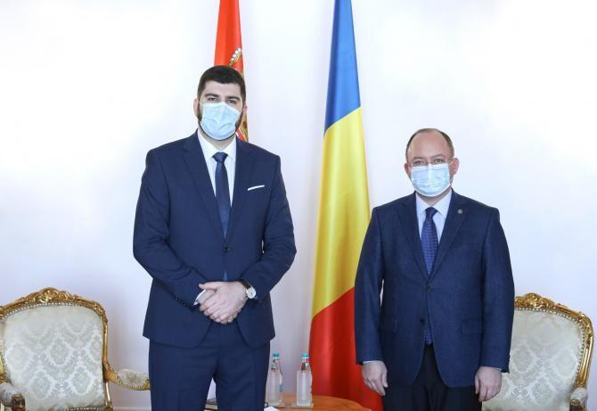 Bogdan Aurescu a pledat pentru  reluarea Comisiei Mixte Româno-Sârbe privind minoritățile naționale  /  Sursă foto: MAE