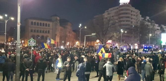 Facebook Mariana Alecu - Protest Bucureşti