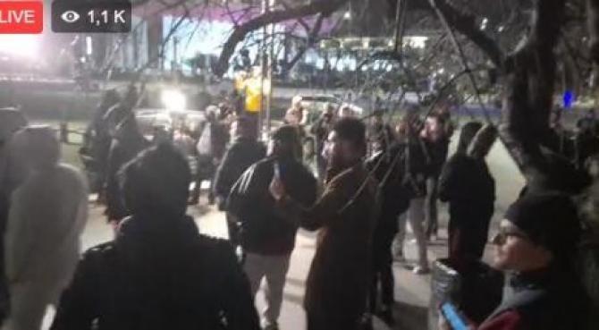 Captura Video cu protestele