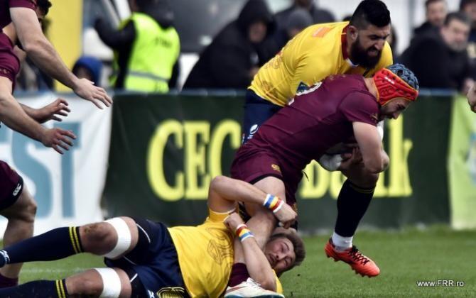 Rugby European Championship 2021. România - Georgia, rezultat final - fotografie cu rol ilustrativ