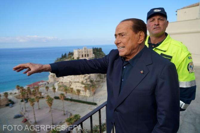 Silvio Berlusconi, externat după spitalizarea pentru un control de rutină