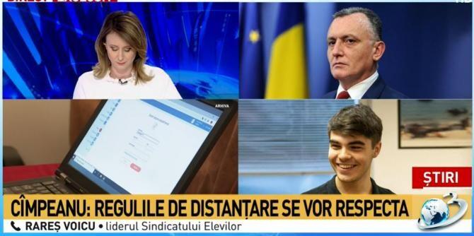 OUG pe masa Guvernului. Trei noutăți pentru elevi. Ministrul Sorin Cîmpeanu vine cu toate explicațiile