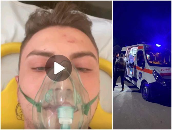 Andrei Constantinescu, aproape ucis în bătaie / Foto Alina Davie