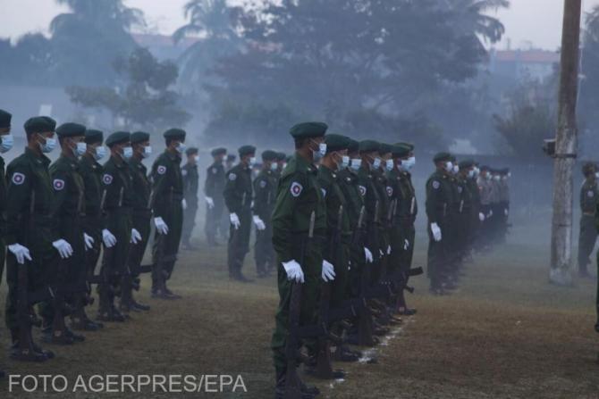 Polițiști din Myanmar au dezertat pentru că nu au dorit să rănească sau să ucidă semeni