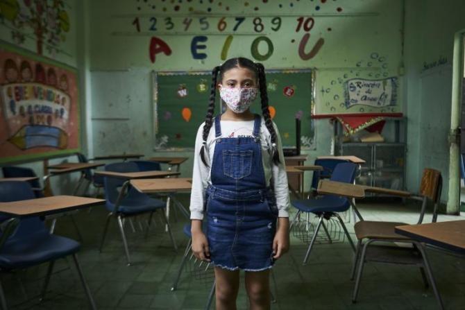 Pandemia de COVID-19 a afectat copiii. Director UNICEF: Cei mici vor purta cicatricile pandemiei  /  Foto: UNICEF