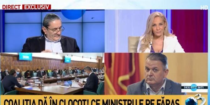 """Guran (PNL), """"informație prețioasă"""" despre plecarea lui Voiculescu. Andreea Sava:  """"Asta ați spus?!"""""""
