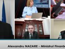 Alexandru Nazare, la dezbaterea online Upgrade România