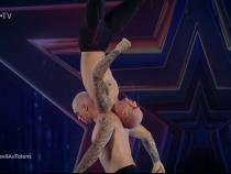 Andrii și Bogdan Kalashnyk, la Românii au talent / Captură ProTV