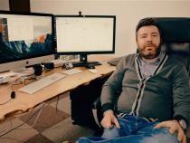 Captură video cu Daniel Dines