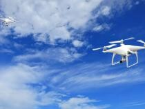Frontiera maritimă a României, supravegheată de o dronă de mari dimensiuni / Foto cu caracter ilustrativ: Pixabay