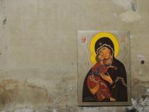 O icoană a Fecioarei Maria, singurul obiect scăpat miraculos dintr-un incendiu / Sursă foto: Pixbay