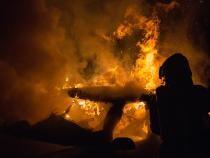 Părintele Gicu, îngerul păzitor care a salvat doi vârstnici prinși într-o casă în flăcări în Constanța / Fotografie cu rol ilustrativ