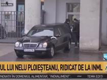 Trupul lui Nelu Ploieșteanu, ridicat de la INML și transportat la Cimitirul Străulești 2  /  Sursă foto: Captură Antena 3