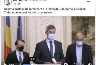 """INCREDIBIL! Gestul făcut de USR PLUS. PNL și UDMR, ignorate TOTAL după """"ACORD"""". Orban, Cîțu și Hunor NU au existat - VIDEO/FOTO"""