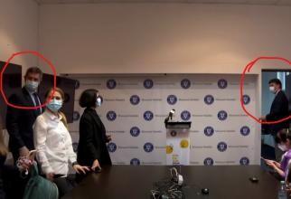 Barna și Tudorache, cu ochii pe Mihăilă, din SALĂ, în prima conferință de presă