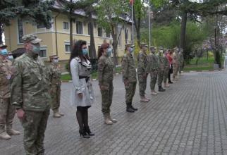 Ziua Forțelor Terestre. Ceremonie militară la Statul Major / Sursă foto: Captură Facebook