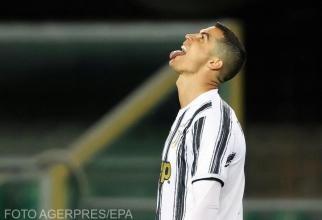 Cristiano Ronaldo, accidentat, nu va juca pentru Juventus în meciul cu Atalanta