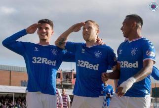 Glasgow Rangers și Ianis Hagi, o nouă victorie contra rivalei Celtic