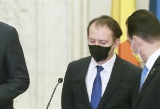 Cum i-a luat Barna fața lui Cîțu în conferința de presă- GALERIE FOTO/ VIDEO