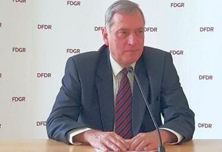Paul-Jurgen Porr a fost reales în funcția de președinte al FDGR   /  Sursă foto: Facebook FDGR