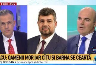 Rareș Bogdan / Captură Antena 3