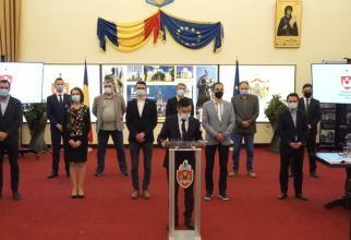 Război USR-PNL la Iași. Primăria nu mai funcționează  /  Sursă foto: Captură Facebook