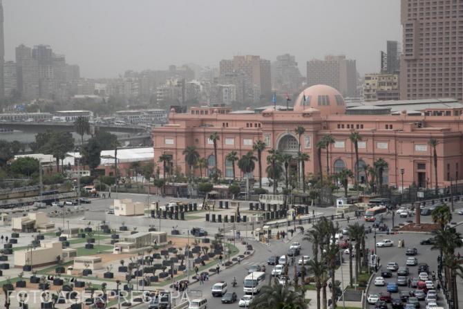 Piața Tahrir, Cairo, locul de unde cele 22 de mumii regale aparținând regilor și reginelor egiptene antice vor pleca de la Muzeul Egiptean  la Muzeul Civilizației
