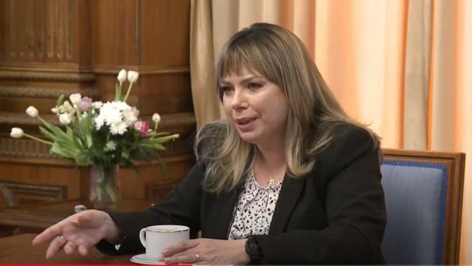 Anca Dragu (USR-PLUS), președinte al Senatului