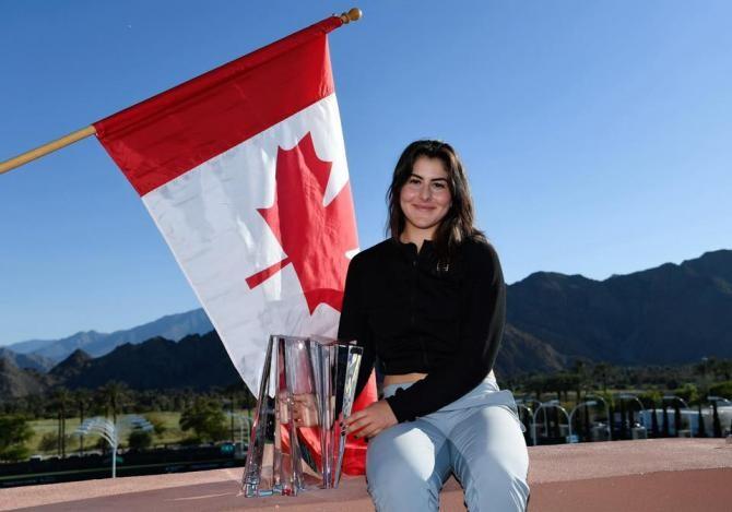 Facebook Bianca Andreescu