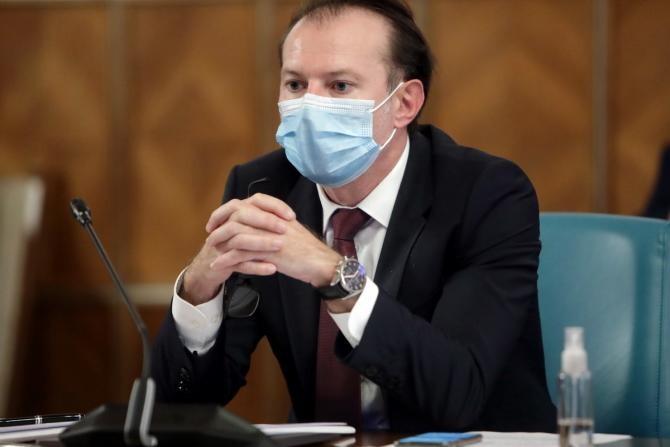 Cîțu: Aș vrea să pot mulțumi personal fiecărui om care s-a vaccinat. Mesaj către Halep și Bendeac