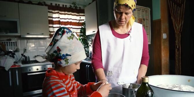 Cozonac de Paști. Rețetă bucovineană din regiunea Cernăuți / Sursă foto: Captură Youtube