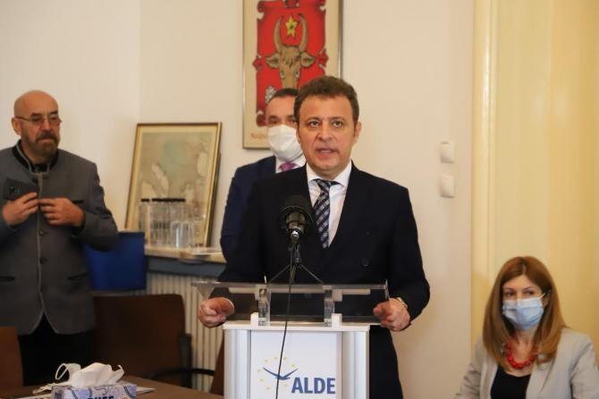Daniel Olteanu / Foto: Departamentul de Comunicare al ALDE