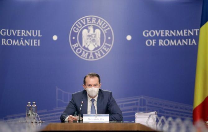 Decretul privind desemnarea premierului Cîțu ca ministru interimar al Sănătăţii, publicat în Monitorul Oficial