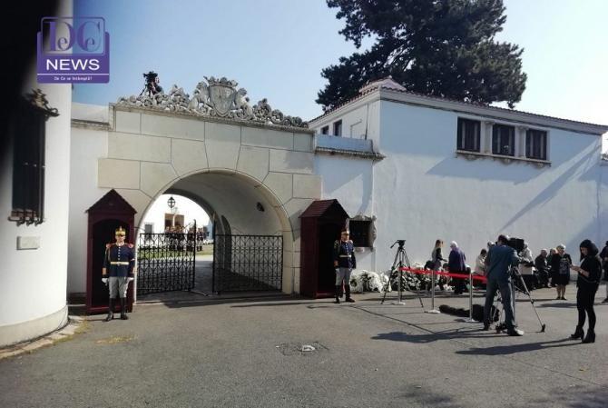 Familia Regală a României, anunț despre un proiect privind grădina Palatului Elisabeta / Foto