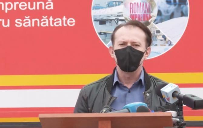 Florin Cîțu / Captură video
