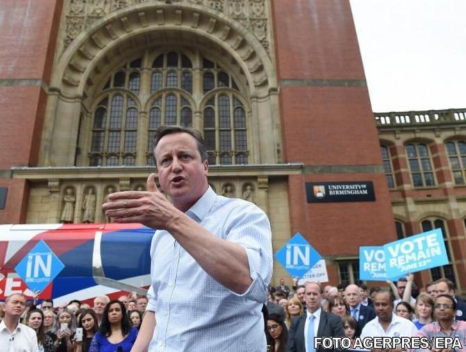 Guvernul britanic dispune o anchetă independentă cu privire la lobby-ul lui David Cameron în beneficiul unei companii
