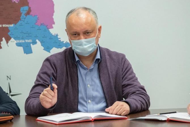 Igor Dodon încearcă să blocheze alegerile anticipate. Declarația politică votată în Parlamentul Republicii Moldova  /  Sursă foto: Facebook Igor Dodon