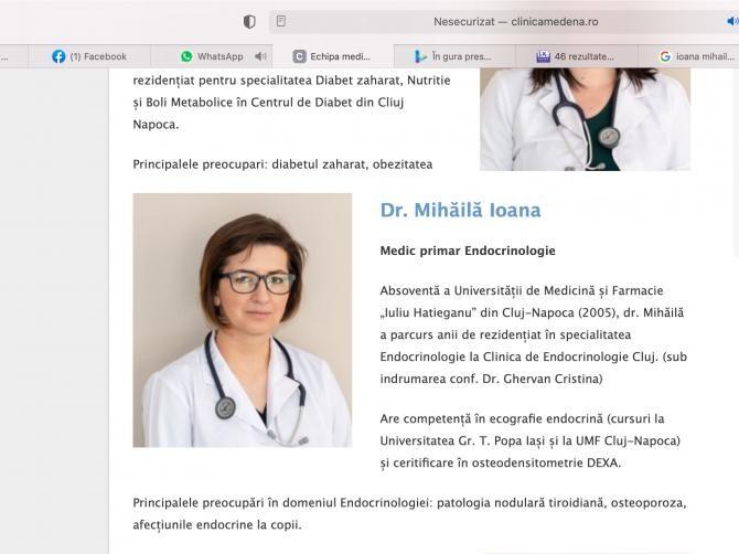 Ioana Mihăilă și CV-ul