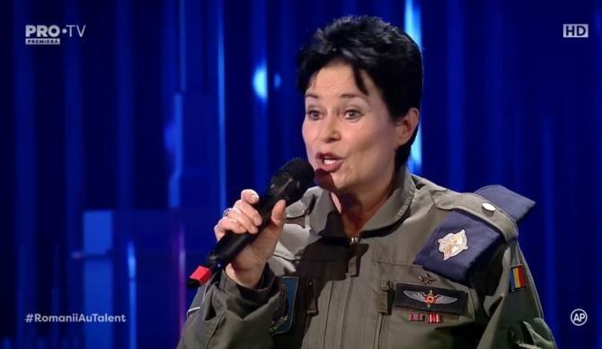 Irina Ichim, la Românii au talent / Captură ProTV
