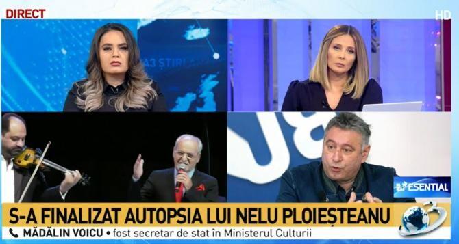 Scandal în jurul decesului lui Nelu Ploieșteanu. Mădălin Voicu: Exagerare! Pot fi găsite soluții de compromis / Captură Antena 3
