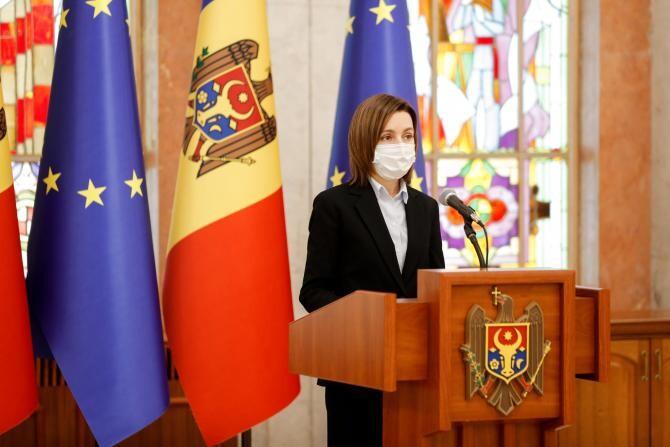 Maia Sandu a fost acuzată la Consiliul Europei că încearcă să uzurpe puterea în Republica Moldova  /  Sursă foto: Facebook Maia Sandu