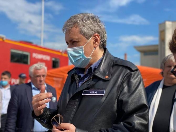 Marcel Vela, reacție după moartea primarului demisionat din Bocșa  /  Sursă foto: Facebook Marcel Vela