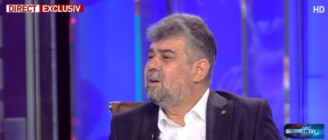 Marcel Ciolacu / Captură Antena3