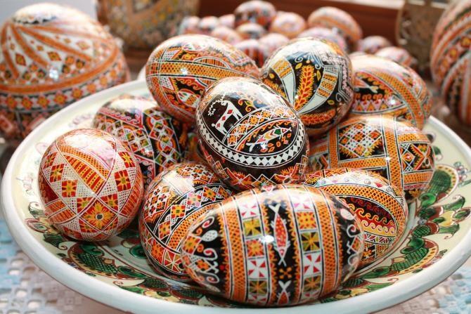 Obiceiuri de Paști din Maramureș. Ritualul străvechi al ouălor împistrite se mai păstrează în câteva sate  /  Foto cu caracter ilustrativ: Pixabay