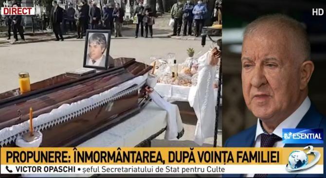 Victor Opaschi, șeful secretariatului de Stat pentru Culte / Captură Antena 3