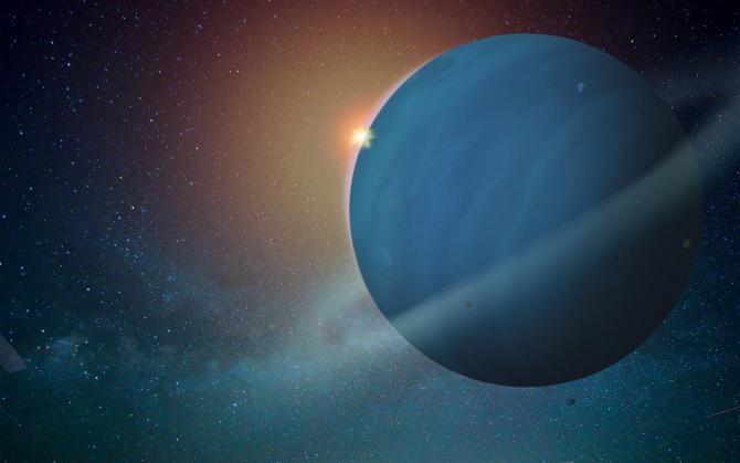 Oamenii de știință au descoperit raze X care ies din Uranus  /  Sursă foto: Pixbay