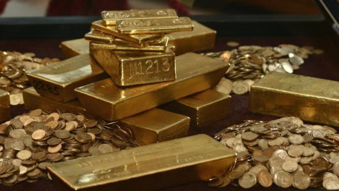 Nivelul rezervei de aur s-a menţinut la 103,6 tone