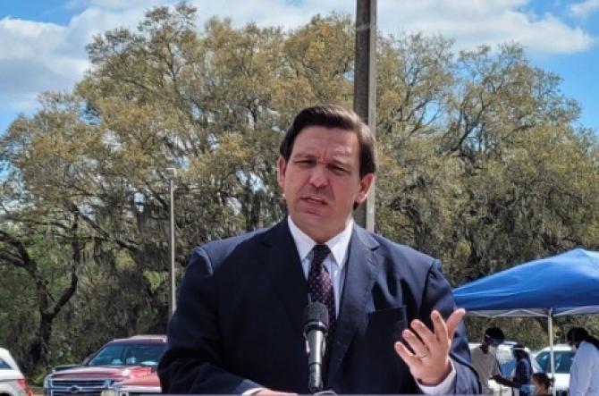 Ron DeSantis, guvernatorul Floridei  Foto: Facebook