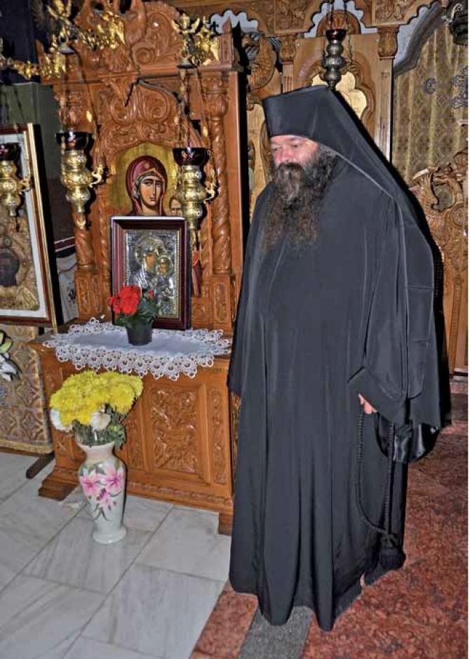 Protosinghel Melchisedec Dobre  Foto: Arhiepiscopia Târgoviștei